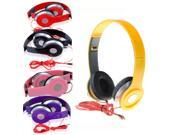 New Fashion Folding Design Universeral Stereo Subwoofer Game Wired Headphones Earphones Headset 9SIA6DJ49J1648