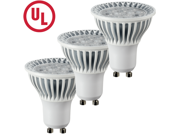 HitLights E Series Dimmable MR16 LED Light Bulb - GU10 Base - 4.5 Watt, 350 Lumens - Cool White (3 Packs)