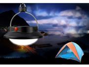 Outdoor Indoor Portable Camping 60 LED Lamp with Lampshade Circle Tent Lantern White Light Campsite Hanging Lamp