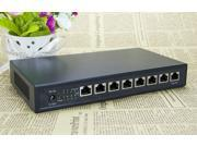 8Port 48V network Switch 8 port POE Switch 48V High Quality Fast Ethernet POE Switch 8Port for IP Cameras 48V/5 A