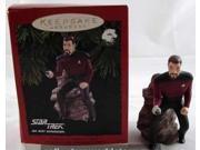 1996 Commander William T Riker Star Trek The Next Generation Hallmark Ornament