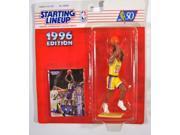 NBA Starting Lineup SLU Eddie Jones 5 1/2 Inch Action Figure Los Angeles Lakers