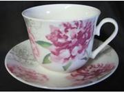Roy Kirkham Breakfast Cup/Saucer - Peony Set of 2 9SIA7GM3T06696