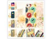 2014 High quality Fossil Case For iphone 4 4G 4S Stripe Pattern Hard Back Cover Cell Phone Cases For iphone4 + Retail Packing