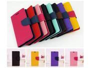 Flip Leather Case for Sony Xperia Z Ultra XL39h Fashion Series Korean Style Stand Wallet Bags Cover Case CA004