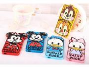 Animal Zoo 3D Cartoon Donald Duck Minnie Mickey Mouse Back Case Cover Soft Silicone Back Cover Case For Sony Xperia Z L36h