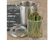 CHEFS 3-Piece Asparagus Steamer, 4.5 quart