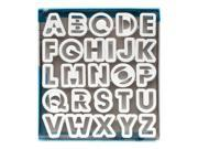 Ateco Alphabet Cookie Cutter Set, 26-piece