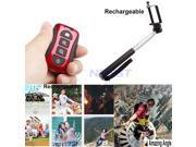 Wireless Camera Self-timer Remote Shutter Holder Tripod Monopod for Cell Phone Samsung Galaxy S5 S4 S3 iPhone 5s 5c Nexus 4 5 HTC Sony Red 9SIA6HJ2AJ7360
