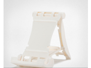 Universal Foldable Adjustable Stand Holder Cradle For CellPhone Tablet iPhone 6 White