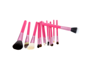 13pcs Professional Makeup Brush Set Cosmetic Brush Kit Makeup Tool with Cup Holder Case Red 9SIA6HJ3423499