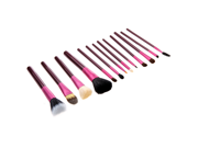 13pcs Professional Makeup Brush Set Cosmetic Brush Kit Makeup Tool with Cup Holder Case Purple 9SIA6HJ3423508