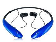 HBS800 2 in 1 Stereo Wireless Bluetooth V4.0 Headset (Blue)