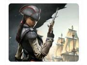 "for Aveline Assassins Creed 4 Black Flag Mousepad,Customized Rectangle Mouse Pad 9"""" x 10"""""" 9SIAC5C5AJ4773"