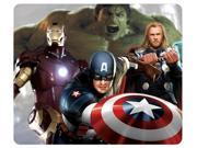 "for Movies Thor Captain America Iron Man Hulk The Avengers Rectangle Mouse Pad 8"""" x 9"""""" 9SIA6HT3W67716"