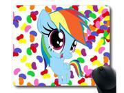 "for Rainbow Dash My Little Pony Friendship is Magic Mouse Pad/Mouse Mat Rectangle 8"""" x 9"""""" 9SIA6HT3W69213"