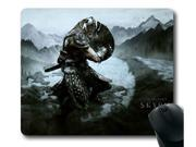 """for the Elder Scrolls V Skyrim-1 Mousepad,Customized Rectangle Mouse Pad 10"""" x 11"""""""