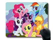 "for MLP My Little Pony Friendship is Magic Custom Mouse Pad Rectangle 8"""" x 9"""""" 9SIA6HT3W69926"