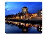 "Professional Mouse Pad Dublin River Liffey Natural Eco Rubber Mouse Mat - Gaming Laptop Mouse and Pc Desktop Are Accepted - Gaming Mouse Pad 10"" x 11"""