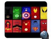 "1 X Superhero's United Superman SPiderman Batman Mouse Pad 8"""" x 9"""""" 9SIAC5C5AC6086"