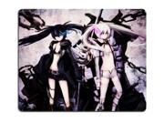 "Black Rock Shooter Black Rock Shooter And White Rock Shooter 02 Anime Gaming Mouse pad Mousepad 8"""" x 9"""""" 9SIA6HT4352195"
