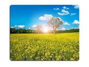 Gaming Mousepad Wild countryside landscape with a beautiful yellow field 8