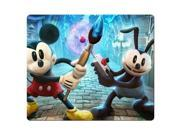 Mousepads rubber & cloth stain and water resistant Soft Disney Epic Mickey 9