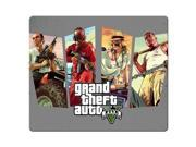 mousemat cloth rubber Rubber Backing Rectangle Mousepad Grand Theft Auto 9
