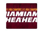 Gaming Mouse Pad cloth * rubber tracking performance black rubber back miami heat 10