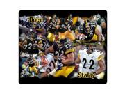 game Mouse Pad cloth and rubber nonslip backing durability Pittsburgh Steelers 9