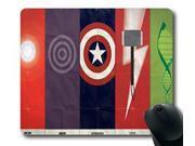Marvel Comics, The Avengers, Iron Man, Hawkeye, Captain America, Thor, The Hulk, symbols Personalized Style (01150998) Custom Oblong Gaming Mousepad Standard Re 9SIA6HT6KK1391