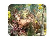 Nature forest Deer animal Rectangle Mouse Pad Size:9