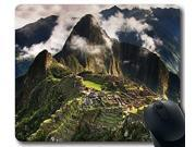 Machu-Picchu-World-Peru Mousepad,Custom Rectangular Mouse Pad Size:10