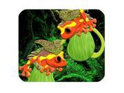 "Tropical Rainforest Vibrant Tree Frog Rectangle Mouse Pad Size:9"""" x 10"""""" 9SIA6HT74F2959"