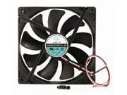140mm 25mm Case Fan 12V DC 74.6CFM STB Silent Cooling 3Pin Ball Bg 324B*