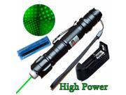 Military 5 Miles 532nm Green Laser Pointer Pen Visible Beam Lazer with Star Cap