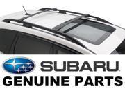 2014-2015 Subaru Forester OEM Aero Cross Bars Roof Rack - E361SSG000