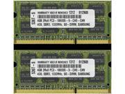 8GB 2X 4GB DDR3 RAM MEMORY FOR for APPLE MACBOOK PRO PC3-10600 DDR3 1333MHZ SODIMM