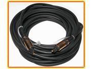 ULTRA GOLD Digital Audio TOSLINK Optical Cable 35 foot Fiber
