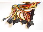 Hercules ATX 600W Black Dual Fan Silent Power Supply w/20-24pin SATA PCI-E