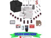 $749 VALUE SINGER® 14SH654 4/3 THREAD OVERLOCK SEGER + EXCLUSIVE BONUS PACK!