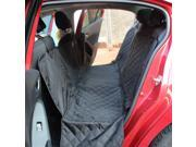 Universal Black Pet Vehicle Seat Cover Nonslip Folding Rear Back Cushion Car Trunk Mat