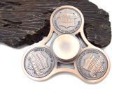 Metal Finger Spinner Coin Penny Hand Spinner Fidget EDC Anti Stress Gyro Focus Toy