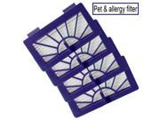 Neato Robotic Pet & Allergy Filter - Replacement For Neato 945-0048 Filter - 4 Pack