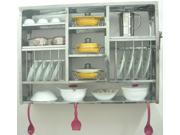 Huge Stainless Steel Dish Dryer Kitchen Plate Rack [RBJ] 30X42R
