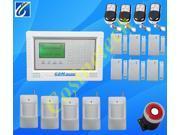 GSM Security Alarm System with LCD Touch Keypad alarm system,smoke sensor,wireless strobe siren horn,wireless gsm alarm system