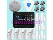 Internet WiFi GSM GPRS Home Security Alarm System G90B alarm Kit home Security WIFI alarm system GSM burglar alarm system