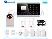 KR-8218G burglar alarm kit humanized menu,clear voice, Home security GSM PSTN alarm System,Secrui anti-theft alarm