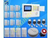 103 defense Zone GSM PSTN Quad Band SMS Home Security Voice Burglar Alarm System Auto Dial Dual network GSM alarm system