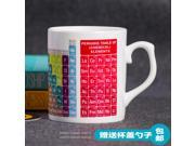 Mug Cup for Geek Programmer Glass Ceramic Mug Coffee Cup periodic table creative gift